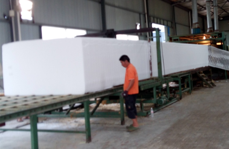 foam production line