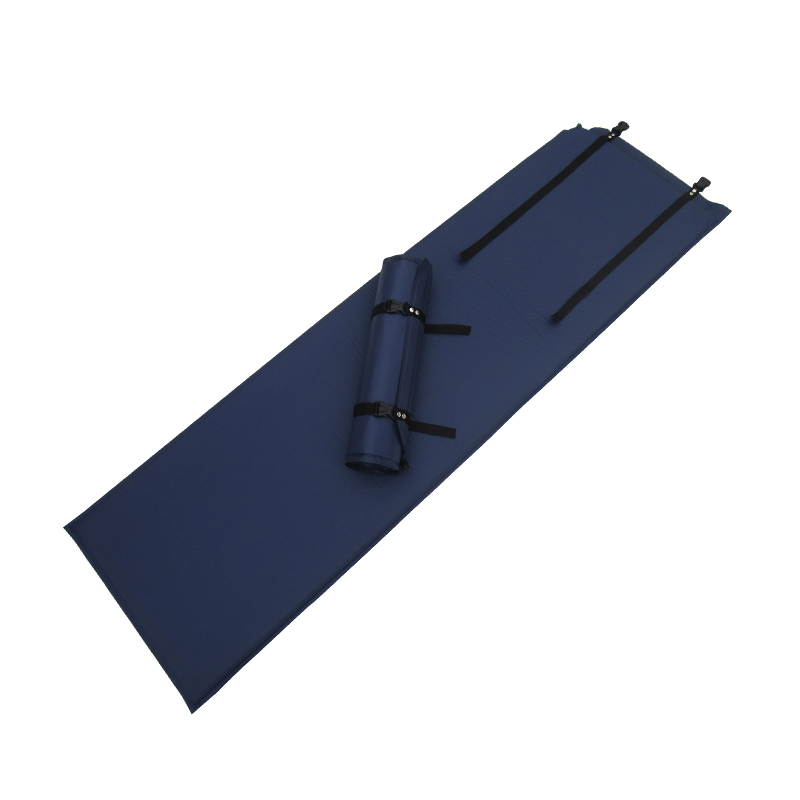 Use of moisture-proof self inflating mats pad