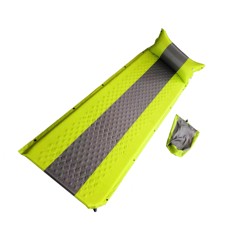 HF-A349 self inflating mat with pillow